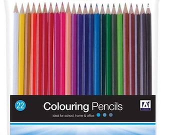 Anker Pack of 22 Colouring Pencils - (VGK/5055)