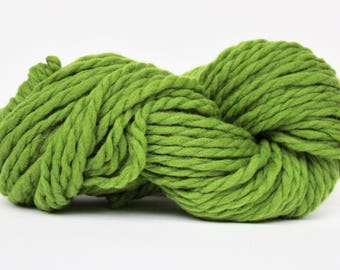 Millennium Super Bulky Yarn,  Merino Yarn, Wool Yarn, Blanket Yarn, XL Yarn, XL Wool, Bulky Yarn, Knitting Yarn, Avocado Color