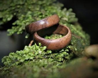 solid wood rings
