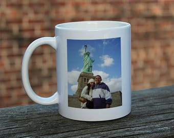 Portrait Mug, Personalized Mug, Custom Mug, Personalized Picture Mug, Family Photo Mug, Family Mug, Family Gift
