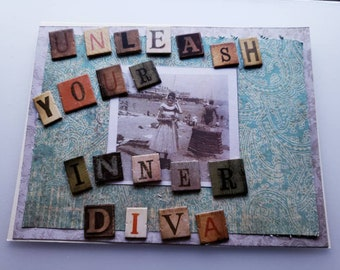 Unleash Your Inner Diva Greeting Card