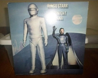 Vintage 1974 LP Record Ringo Starr Goodnight Vienna Near Mint Condition 5535