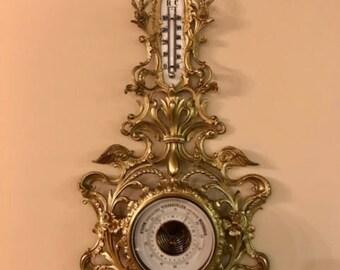 Antique German Barometer