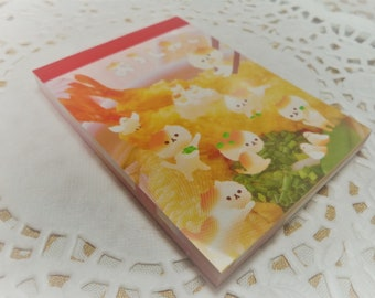90 Pc Kawaii おろしねこ Cat  Mini Memo Pad Stationery Homework, School, Crafts, Paper Supplies, Snail mail, Notes, Scrapbooking, Packing Slips.