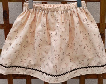 skirt elastic T 6 years old girl