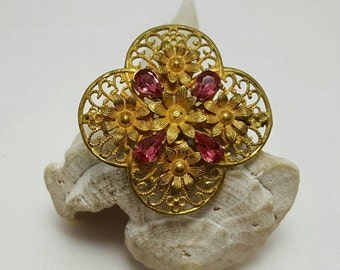 Ornate French Pin