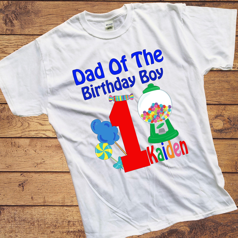 ADULT CandyLand Birthday BOY Shirt