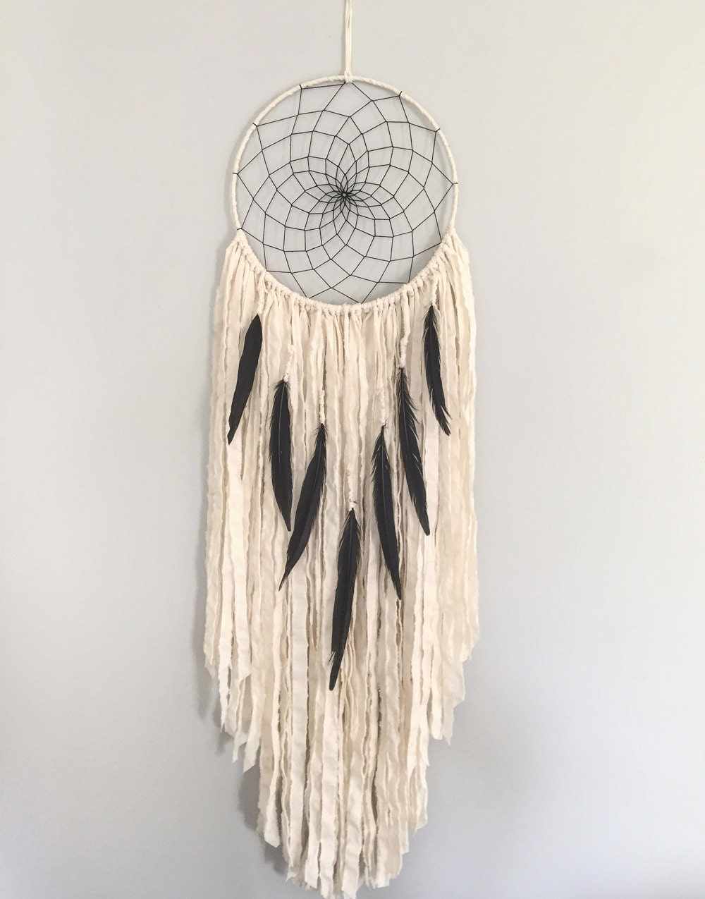 Dream Catcher Without Feathers Large Dream Catcher Large White Dream Catcher with Black 15
