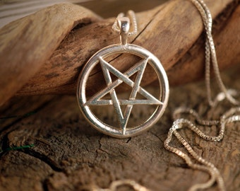 Inverted pentacle etsy quick view inverted pentacle aloadofball Choice Image