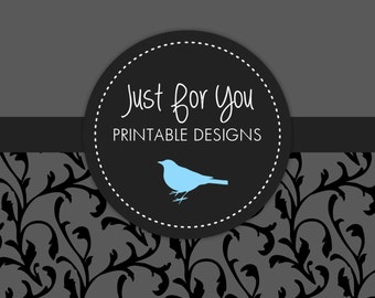 Water Bottle or Juice Box Wraps Add-On (coordinated with your invitation selection) YOU PRINT