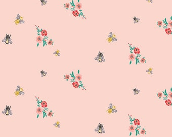 Bees & Bits  Millie Fleur - Bari J. - Art Gallery Fabric - 100% Quilters Cotton Available in Yards, Half Yards and FQ's MFL-11354