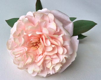 Peony Flower Made from Crepe Coffee Filter Paper. Stunning for Weddings or Home Decor.