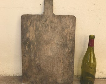 ANTIQUE VINTAGE FRENCH bread or chopping cutting board wood 2703189