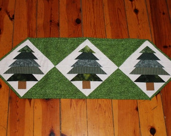 Trio of Pines Table Runner