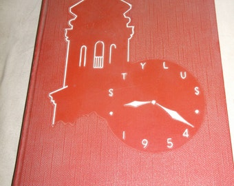 Glendale Ca High School, Yearbook Stylus 1954