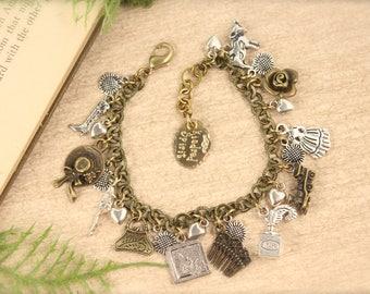 Anne Inspired Kindred Spirit Charm Bracelet