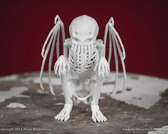 Cthulhu Skeleton 3D Print Taxidermy Sculpture
