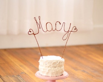 Rustic Name Cake Topper, Rustic Wedding Name Cake Decoration, Wedding Decoration, Rustic Wedding Centerpiece, Enagement Party Decoration