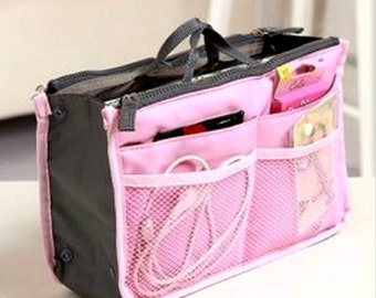 Tote Insert Organizer Travel Handbag Organizer Bag in Bag Diaper Wedding Bag Baby Supplies Newborn Organizer Cosmetic Backpack