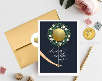 Navy Wedding | Bridesmaid Proposal | Bridesmaid Gift, Scratch off card | Will you be my bridesmaid? | Bridesmaid card | Bridal party gifts