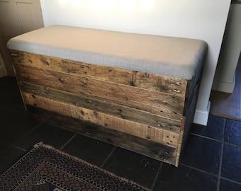 blanket box, storage bench, storage box, storage chest, shoe storage, wooden storage box, storage box with padded seat, bench with storage