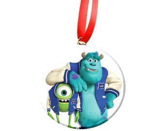 Monsters University Inc Christmas Tree Ornament -Mike Sulley