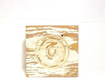 Vintage Architectural Wooden Rosette