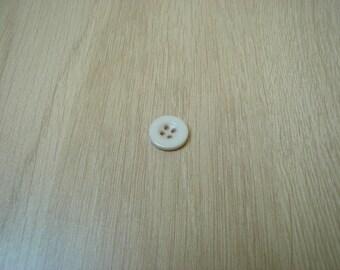 beige button low edge