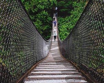 Digital Download - Suspension  Bridge