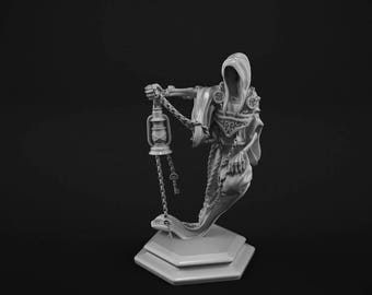 Specter miniature for tabletop gaming. 28mm