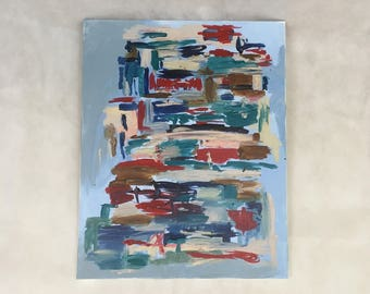 """Untitled 7 16""""x20"""" original abstract painting"""