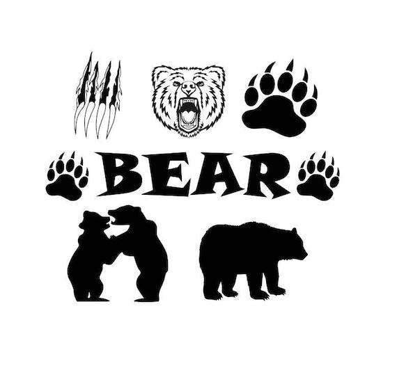 Bear Cut Files Bear Claw Cut Files Bear Paw Cut Files Bear