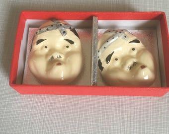 strange Asian Pottery Fellows