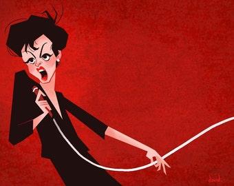 Judy Garland - 11 x 14