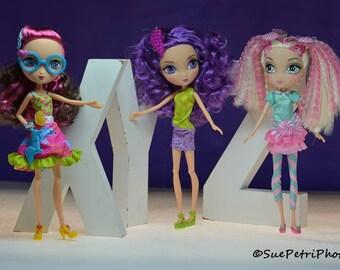 Fashion Doll Photography, LaDeeDa Doll Photos, Barbie Photos, Girls Room Decor, Toy Photography, Still Life Photos, Pink, Purple, Cute