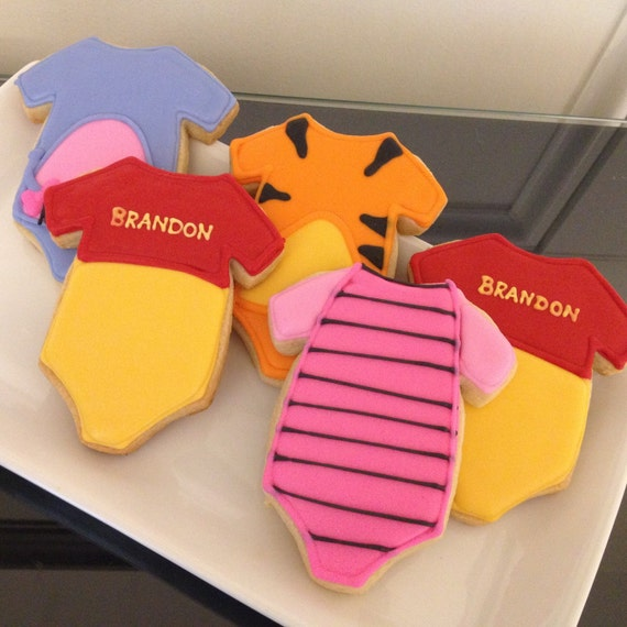 Winnie the Pooh Baby Cookies