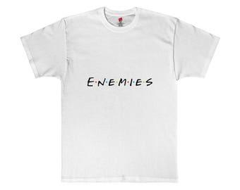 Enemies Shirt Meme Friends Parody Shirt Meme Shirt Best Internet Meme Gifts White