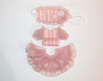 CandyGirl 3pcs Set - Pink - Middie Blythe