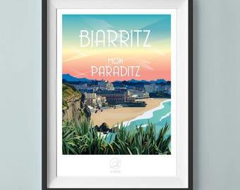 Biarritz poster