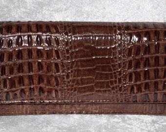 Pierre Cardin Vintage Clutch Croco Evening Bag