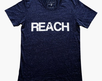 The REACH / ESCAPE Speckled Navy Parkour T-Shirt