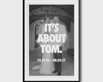 In Memoriam: Luann and Tom 11x17 Poster