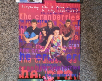 The Cranberries Promotional Poster
