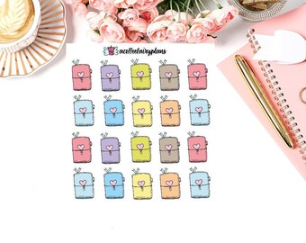 Travelers Notebook Planner stickers functional