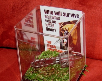 """Texas Chainsaw Massacre """"Leatherface Chainsaw"""" Collectible Display...Ready to Ship..""""We Combine Shipping"""""""