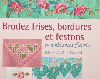 Book new - EMBROIDER strips, borders and swags