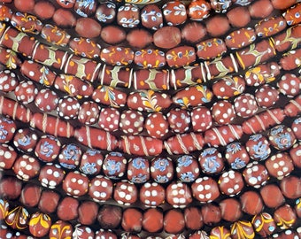 Volume IV - White Hearts, Feather and Eye Beads - Beads From The West African Trade Series - Written by Ruth and John Picard