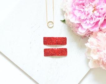 Barrette & Glitter clips