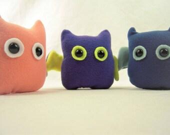 Fleece Bat Plushies
