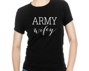 Army Wifey T-shirt